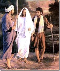 Jesus anda com os homens