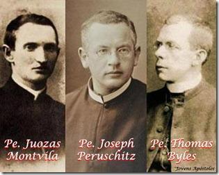 tres sacerdotes no titanic